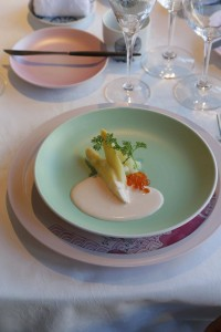 MR white asparagus on Arita