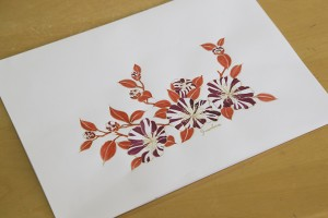 Dessin Fall Flowers